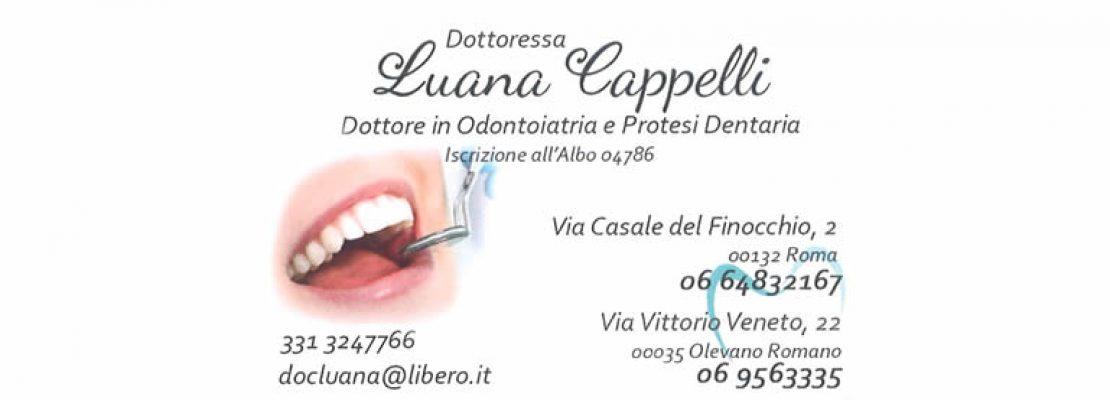 Dott.ssa Luana Cappelli